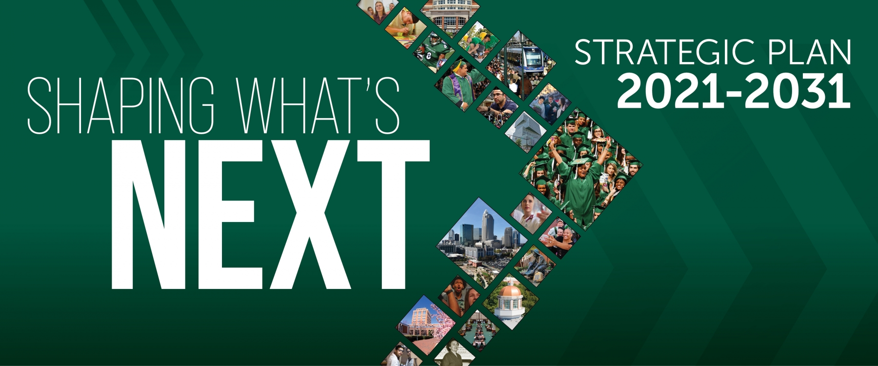 Shaping What's Next - UNC Charlotte's Strategic Plan 2021-2031